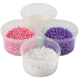 Pearl Clay (3x25gr) wit, paars, roze