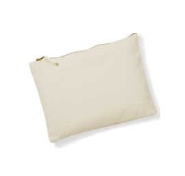 Canvas Accessory Case - Natural - XS