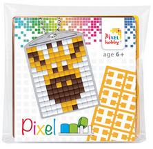 Pixel sleutelhanger - Giraf