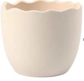Bloempot Egg Shell