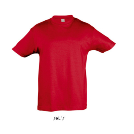 Kids T-shirt - Red
