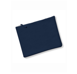 Canvas Accessory Case - Navy - XS