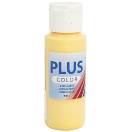Plus Color acrylverf - Crocus Yellow / 60 ml