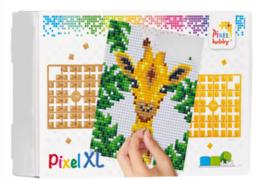 Pixel XL pakket op 4 basisplaten - Jungle Giraf