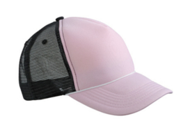 Retro Mesh Cap - Baby Pink / Black