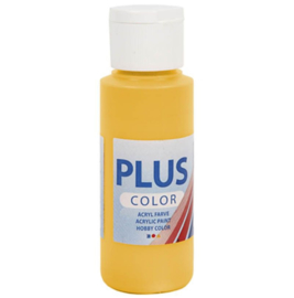 Plus Color acrylverf - Yellow Sun / 60 ml