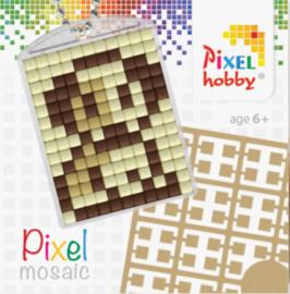 Pixel sleutelhanger - Hond