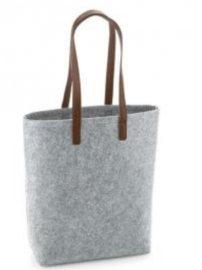 Felt Shopper premium - Grey Melange