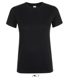 Women T-shirt - Deep Black