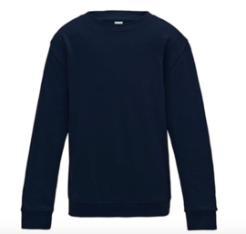 Kids AWDis Sweater - New French Navy