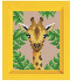 Pixel geschenkverpakking - Jungle giraf