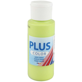 Plus Color acrylverf - Lime Green / 60 ml