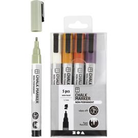 Chalk Markers, set pastelkleuren