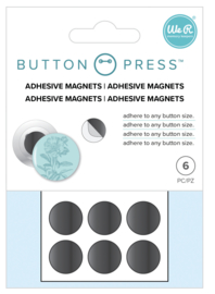Button Press - Button Backer Adhesive Magnets