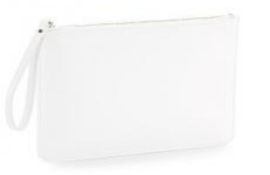 Boutique Accessory Pouch - Soft White