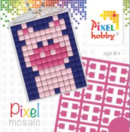 Pixel sleutelhanger - Varken