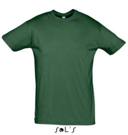 Men T-shirt - Bottle Green