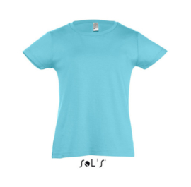 Girls T-shirt - Atoll Blue