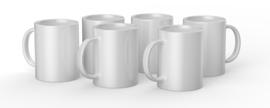 Cricut mug white 440ml (6 stuks)