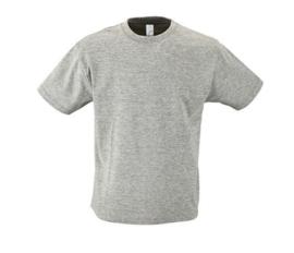 Kids T-shirt - Melange Grey