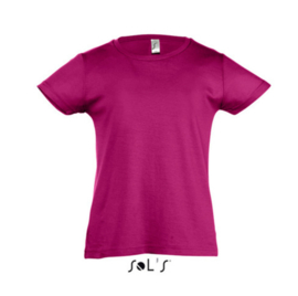 Girls T-shirt - Fuchsia