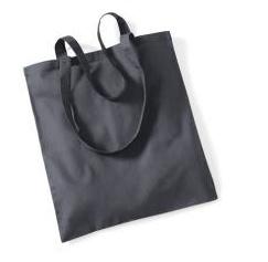 Katoenen Draagtas - Graphite Grey