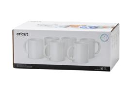 Cricut mug white 340ml - 12oz (6 stuks)