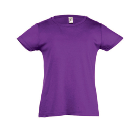 Girls T-shirt - Dark Purple