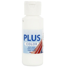 Plus Color acrylverf - White / 60 ml