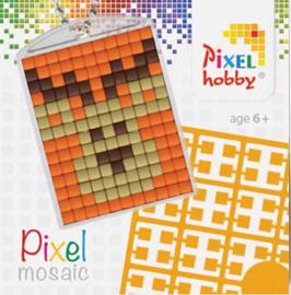 Pixel sleutelhanger - Rendier