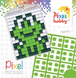 Pixel sleutelhanger - Kikker