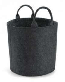 Felt Trug - Charcoal Melange MEDIUM