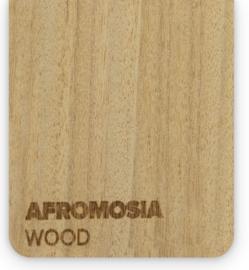 Wood Afromosia (21x30cm)