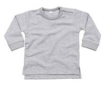 Sweater Baby BB - Heather Grey