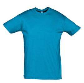Men T-shirt - Aqua