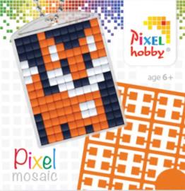 Pixel sleutelhanger - Vos