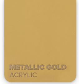 Acrylic Metallic Gold 3mm (21x30cm)