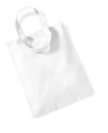 Katoenen Mini Draagtas - White