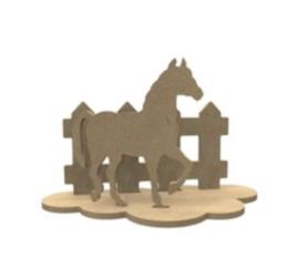 Mdf Paard Set