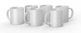 Cricut mug white 350ml (6 stuks)