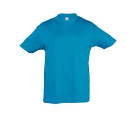 Kids T-shirt - Aqua