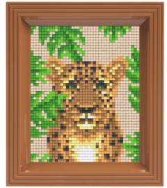 Pixel geschenkverpakking - Jungle panter