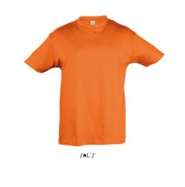 Kids T-shirt - Orange