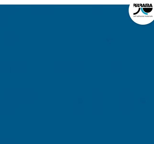 Permanent blue Vinyl - RI360
