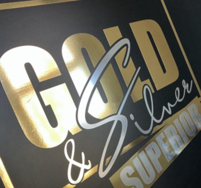 Metallic Vinyl - Superior Gold (30cmx50cm)