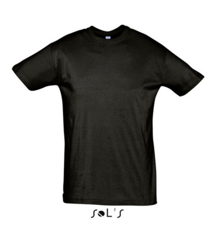 Men T-shirt - Deep Black