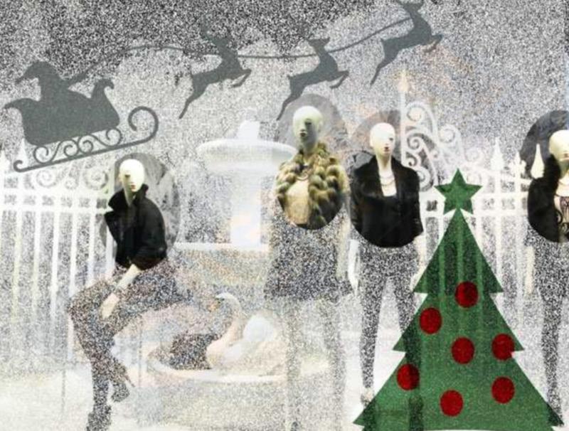 Illustra  Snow Glasdecor