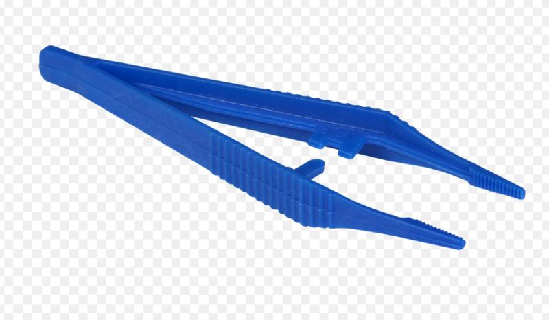 Pincet Pixelhobby kunststof blauw