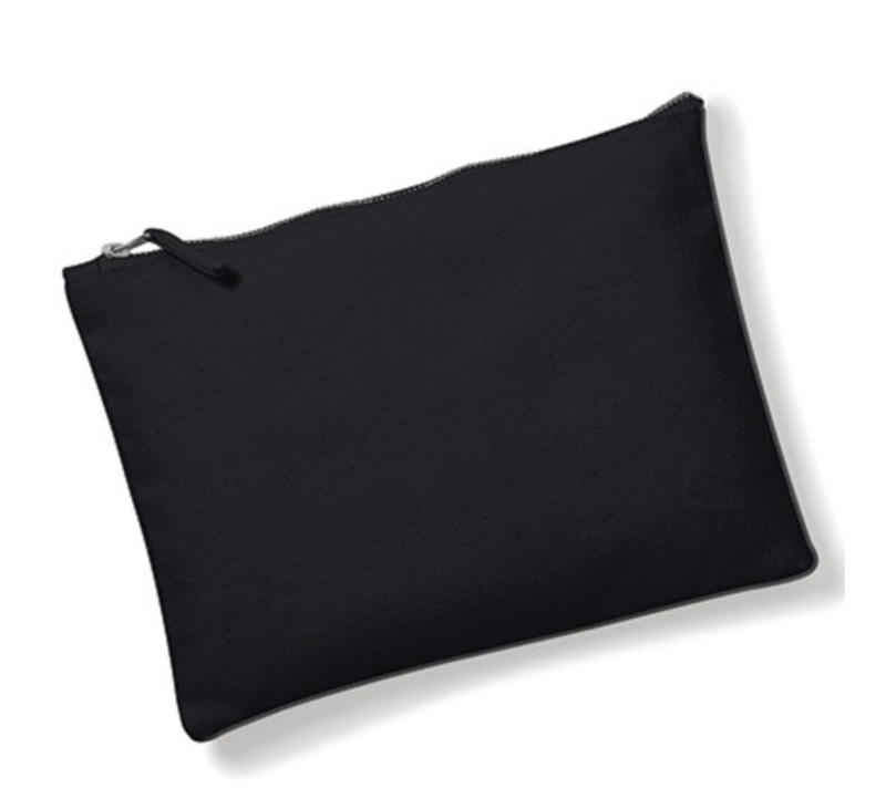 Canvas Accessory Case - Black - M