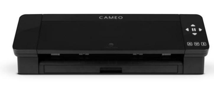 """Cameo 4 ZWART - inclusief startmaterialen & handleiding """"mijn eerste cameo project"""""""
